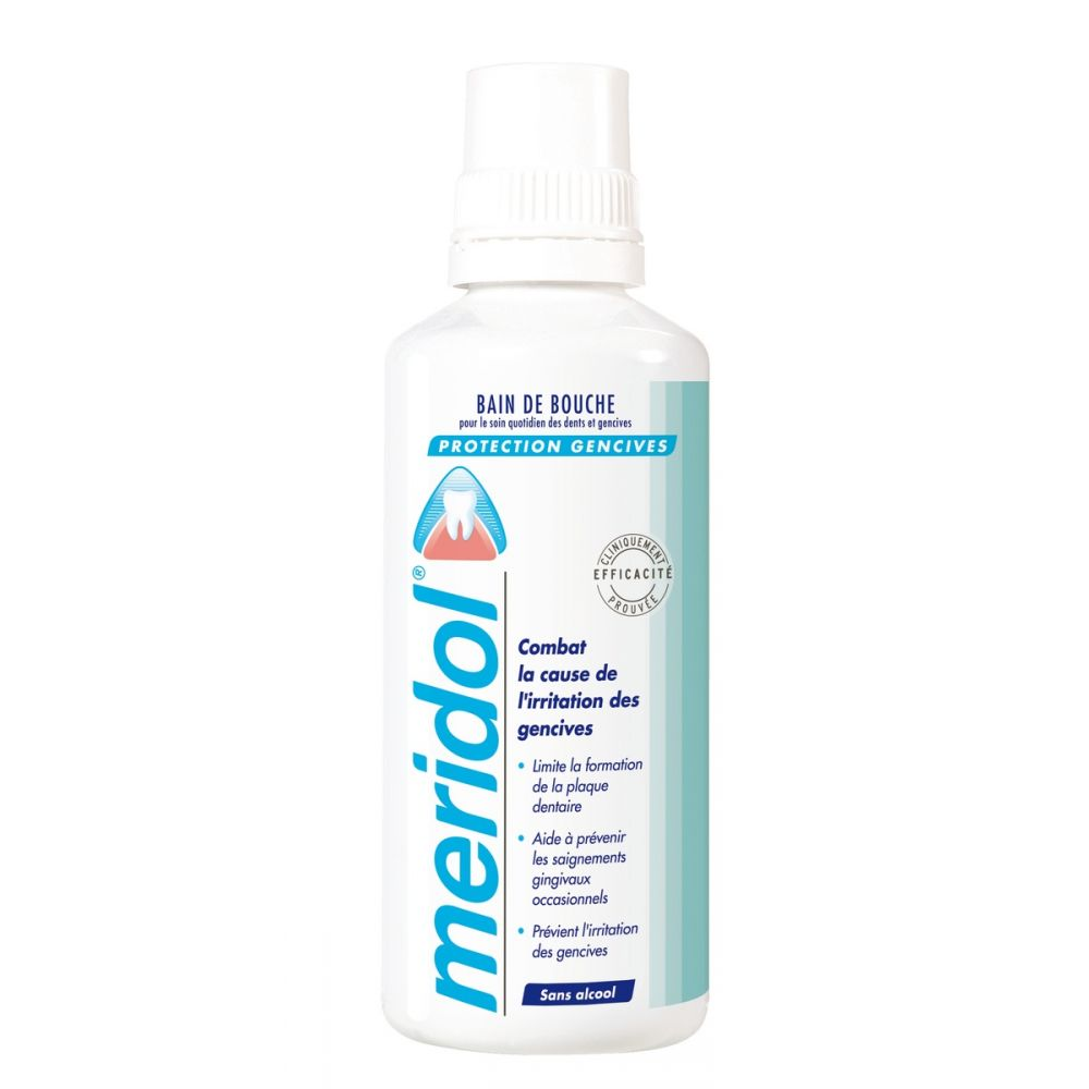 Bain bouche Meridol protection gencives - 400ml