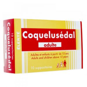 Coquelusédal adulte - 10 Suppositoires