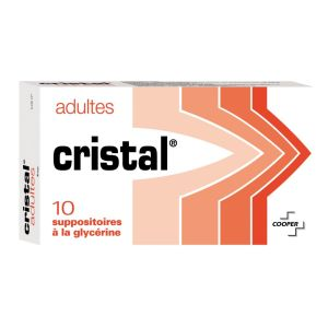 Cristal Adulte - 10 suppositoires