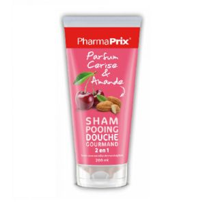 Gel douche gourmand 2 en 1 Cerise & Amande - 200ml