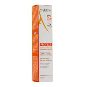 A-Derma Protect fluide solaire invisible SPF 50+ 40 ml