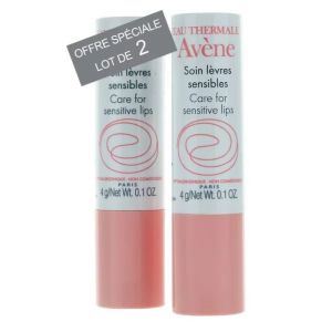 Soin Lèvres sensibles lot de 2 sticks