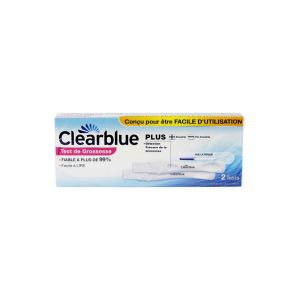 Test de grossesse Clearblue plus - 2 tests