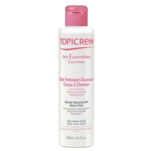 Topicrem Gel nettoyant corps & cheveux x 200 ml