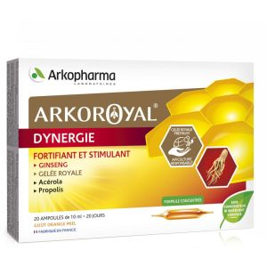 Arkoroyal Dynergie Arkopharma x 20 ampoules