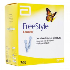 Freestyle Papillon - 200 Lancettes