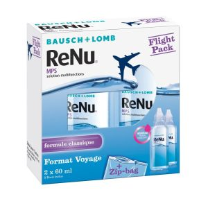 Solution multifonctions Spécial Flight Pack Bausch & Lomb - 2 x 60 ml