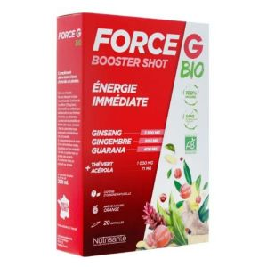 Force G Booster Shot Bio - 20 ampoules