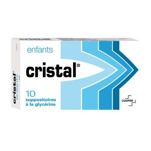 Cristal Enfant - 10 suppositoires