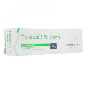 Topiscab 5% - Tube de 30g