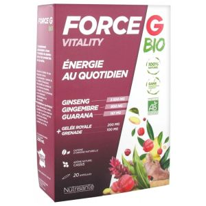 Force G Vitality Bio -20 ampoules